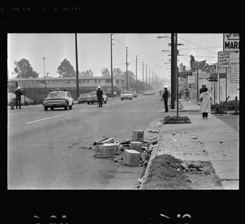 Grape Street. Watts, Los Angeles, California. 1965