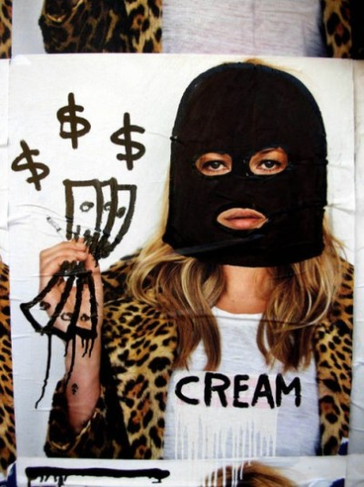 SUPREME CREAM TEAM - Kate Moss