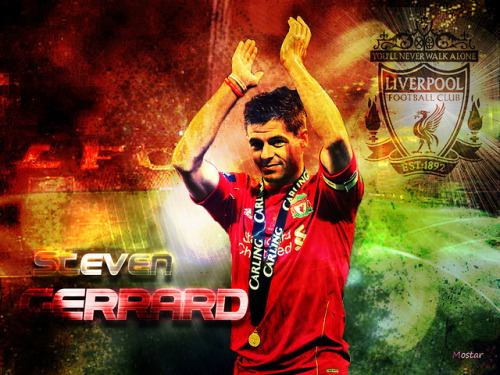 Steven Gerrard - The Captain http://www.facebook.com/LiverpoolFC#!/photo.php?fbid=10150765140427573&set=a.100998577572.107684.67920382572&type=3&theater