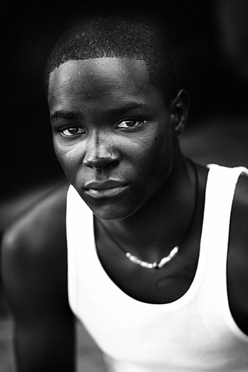 Humanity's Face #3.  A Young Man from Harlem. Photo Credit Sheldon Levy.