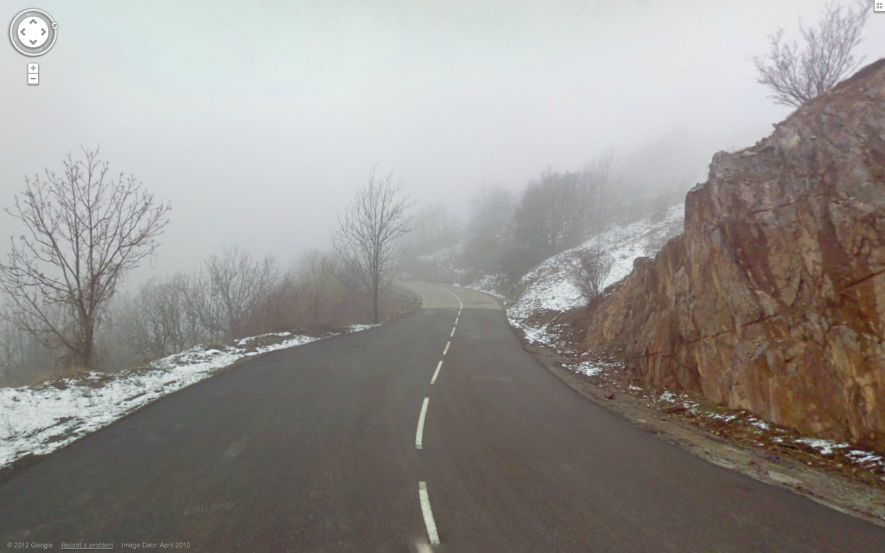 This is the end of the world according to the Google Street View car.