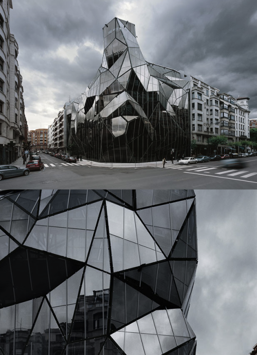 szymon:  Basque Health Department Headquarters by Coll-Barreu Arquitectos | photo © Aleix Bagué