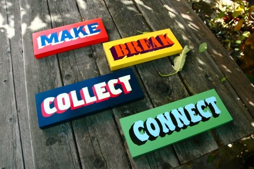 visualgraphic:  Make,break,collect,connect