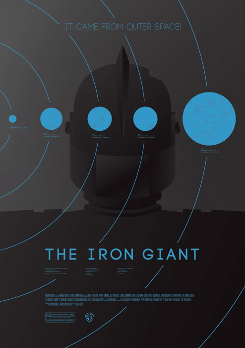 The Iron Giant by Dee Choi