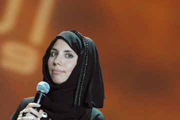 "Sophia Al-Maria, who also goes by the nom-de-plume Sci-Fi Wahabi, is a Qatari artist and a writer. Her work is mainly fused with futurism in the Gulf region. In the past she has curated a tour of Doha by Dhow called ""Future Tents"" and has also performed 'tours from the future' at Art Dubai. Part of her is also about fusing American and Arab pop cultures. She is also the Gulf Collection Curator at the Arab Museum of Modern Art. She is currently writing a book for Harper Perennial.  (via Islam and Science Fiction » News SF by Muslims » Sophia Al-Maria (Sci-Fi Wahabi))"