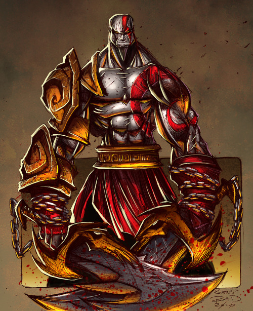 Kratos by RobDuenas