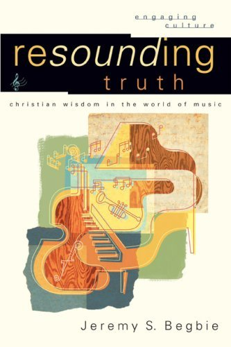 Resounding Truth: Christian Wisdom in the World of Music, by Jeremy S. Begbie, 2007. I have read quite a few books about music and its intersections with theology, whether it was about blues, rap, rock ,etc.  And generally speaking, whenever classic music is brought up as the example of choice, I tend to tune it out.   This is not because I hate classical music, quite the contrary, but because I have a very limited understanding of it.  I am much more well-versed in the heavy metal/folk/hip hop traditions than classical.  A fault in my character? Maybe.  However, that is just the way things are for me.  So When I began reading this book and recognized that classical music was, in fact, the examples of choice, I began to become hesitant, however Begbie laid my fears to rest.  He actually made his musical points understandable; he wrote it on the lay level.  Now, that is not to say that I understood all of the musical theory and structures, but I have a better grasp of it now than I did before.  This aspect is only part of the brilliance of this book though. The most significant aspect of this book was thoughtful and insightful way that he illuminated music through the use of theology and illuminated theology through the use of music.  Most books attempt to do this, but they either oversimplify the musical theories and structures and emotive aspects therefore rendering music impotent of its intellectual emotive power or they water down theology to fit whatever structures they intend to get across to the reader, rendering theology to be impotent of its power and salvific elements.  Begbie shows such grace in characterizing the counterpoints of music and theology.  His understanding of theology would rival any of the best out there today and, of course, his knowledge of music is, not just technical, but extremely profound.  His passion for both shines through in his writing and the reader can tell that he is truly concerned about understanding theology and music together because all things come under the domain of the God of the Bible.  He critiques all sides, Christian and not, and shows where the weaknesses of each time period of music history (and theology) are.  A good portion of the book is diving into different personalities who attempted to reconcile music, one of the most effervescent forms of the arts, to a Biblical understanding of God and reality.  He deals with Pythagoras, Augustine, Martin Luther, John Calvin, Huldrych Zwingli, J.S. Bach, Friedrich Schleiermacher, Karl Barth, Dietriech Bonhoeffer, and others who had something significant to say about the nature of this relationship.  Now, this does not mean that he holds to all of these aspects, but he wanted to give the reader a context to think about the subject in.  Even though he does deal with technical aspects of music, he also broaches the conversation of how music affects us emotionally (which is usually the direction of the arguments made against music as a means of understanding reality and God) and, though he acknowledges complexities and debates, he clarifies quite a few misnomers about how emotions work and how music affects them.  Most of the book is dealing with non-lyrical music and so his analysis is largely based, not on text, but the sonic order that presents in the music itself.  That was the most enlightening aspect of the book in the end.  The density of the book did not lend itself to quick understanding of areas that I might have been critical of.  So there is nothing off the top of my head that I want to point out as potential problems with his argumentation.  This is easily one of the most stellar books I have read, period.  Extremely impressed with his knowledge of theology and his thoughtful analysis of how it intertwines and separates from music.