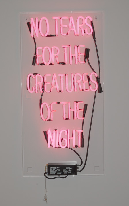 Will Munro, No Tears For the Creatures of the Night, 2004