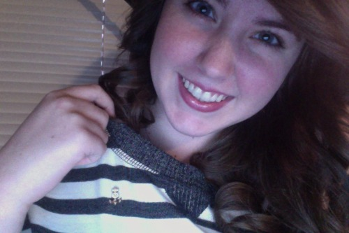 Wearing my Delta Gamma badge today for International Badge day! :)