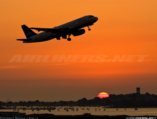 Sunsets… at General Edward Lawrence Logan International airport.