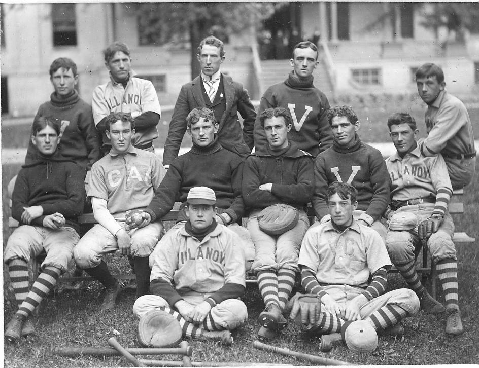 Villanova Baseball Team . Villanova College . 1896 Villanova University Archives