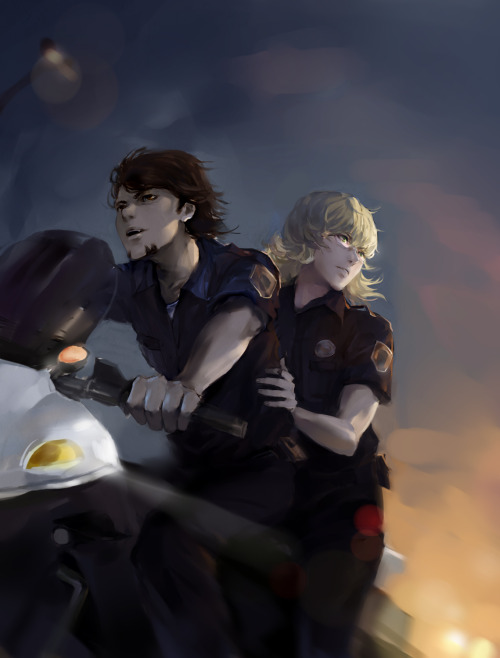 roryobasan:  S.B.P.D.'s FINEST are ON DUTY!! <3 <3 <3