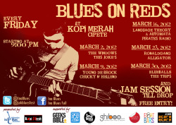 #BluesOnReds reguler event of @InaBlues every Friday night at @kopimerah