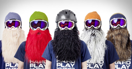 YES! Now, you too can have a perfectly natural looking beard for when you go snow skiing! Found this on coolshityoucanbuy.com