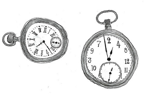 twistytwirls:  clocks (by mon dieu!)