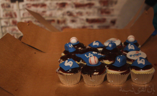087th:  Los Dodgers Cupcakes