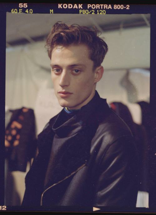 paolosimi:  Bastiaan Van Gaalen @ Paul Smith Paris fashion week 2012