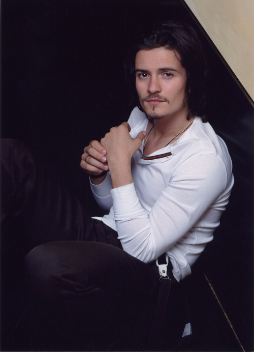 Orlando Bloom gatíssimo