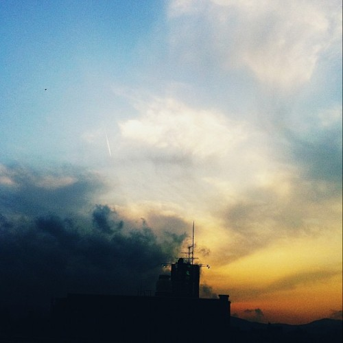 #イマソラ #sky #sunset #clouds (Taken with instagram)