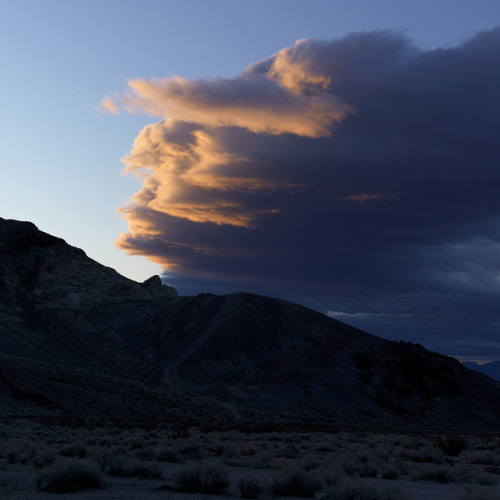 Rhyolite sunrise, Death Valley 2012 by Gord McKenna on Flickr.