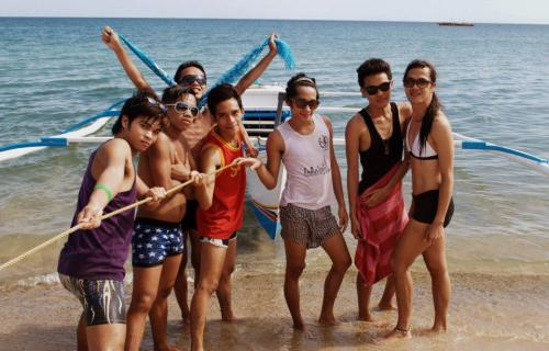 Zaragosa summer adventure 2012 in Laiya, Batangas! :)))