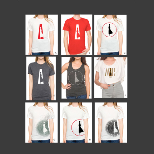 T-shirt Concepts for Women In War Zones International
