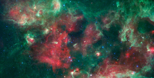Section of the Milky Way image: NASA/JPL-Caltech/UCLA