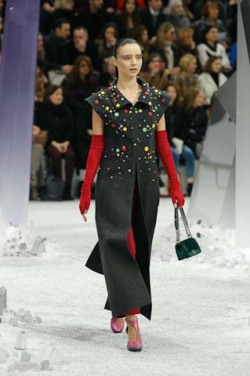 Miranda Kerr walks Chanel