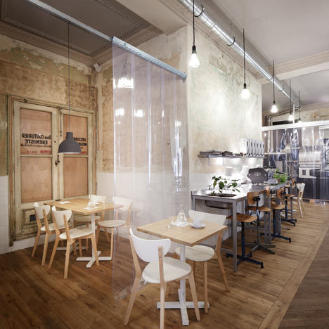 Café Coutume by Cut Architectures   Paris