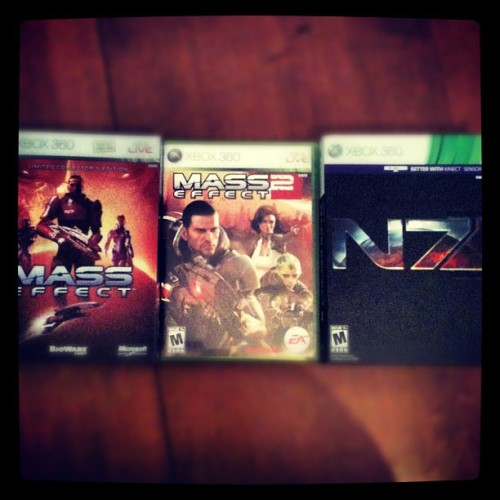 The circle is complete #masseffect3  (Taken with instagram)
