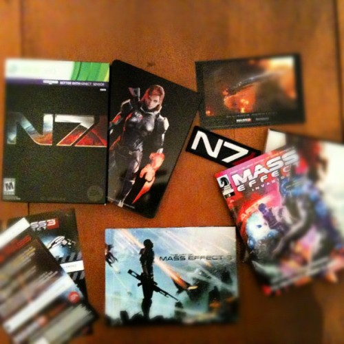 Collectors edition #masseffect3  (Taken with instagram)