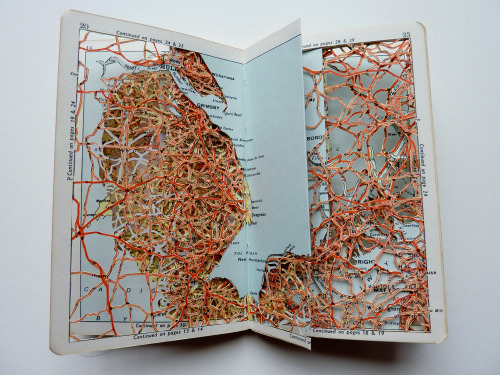 artmaps:  Part of the Dislocated Atlas Series by Emma Johnson