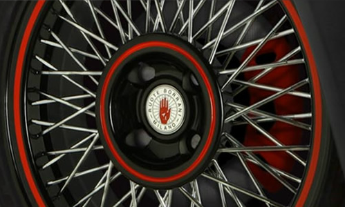 Borrani Wire Wheels…MIlano