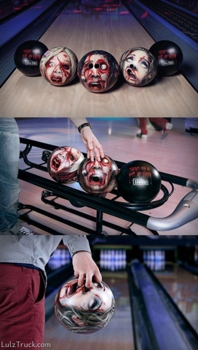Hot Damn those are some cool balls!  Bowling just got better? Do-able? a little less than the most boring sport of all time?