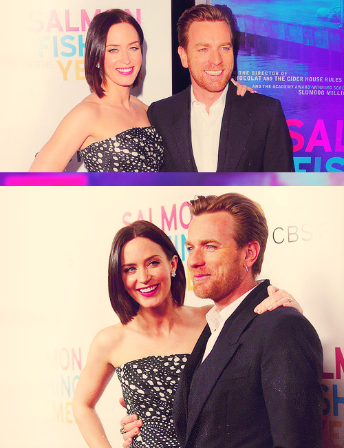 "Emily Blunt and Ewan McGregor | ""Salmon Fishing in the Yemen"" Première (2012)"