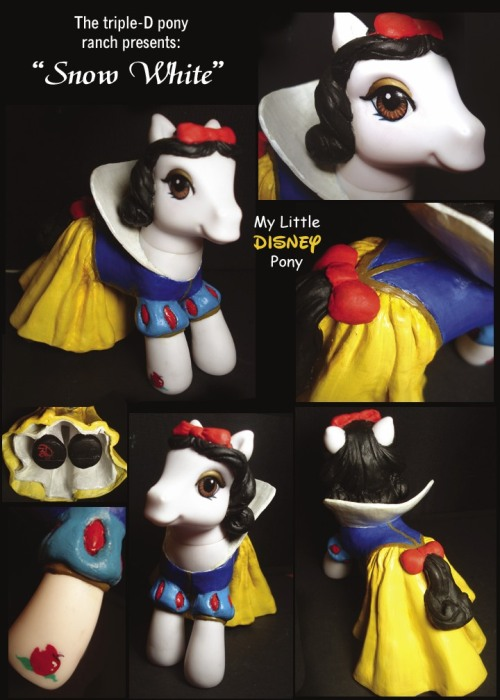 MLP Custom Snow White by ~saeriellyn