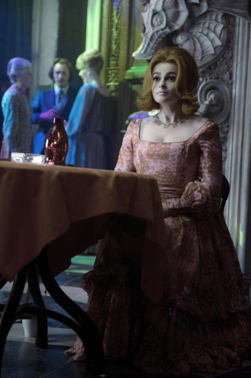 Helena Bonham Carter as Dr. Julia Hoffman in Tim Burton's #DarkShadows