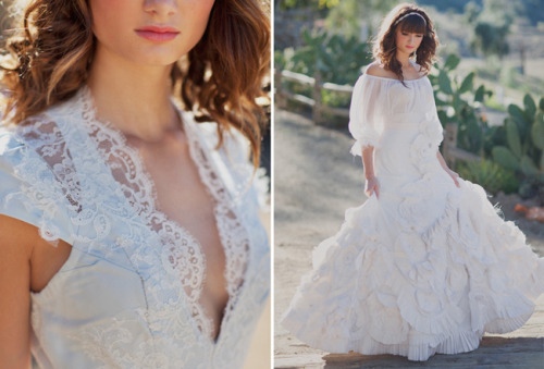 lynettebishop:  Wedding dress for me… yes please! :) [♥]