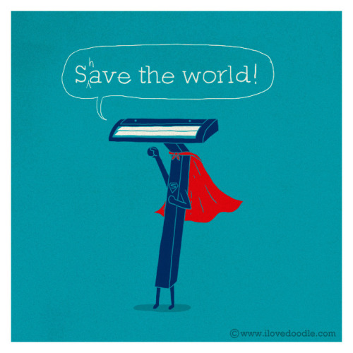 laughingsquid:  (Almost)Save the world