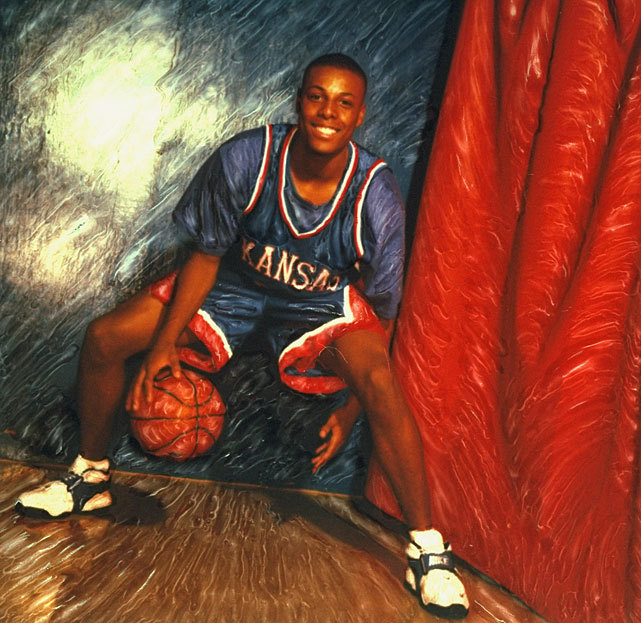 This 1996 photo illustration of Kansas' Paul Pierce was created by legendary SI photographer Walter Iooss Jr. The Jayhawks are projected as a No. 1 seed in Andy Glockner's latest tournament projection. (Walter Iooss Jr./SI) GLOCKNER: Bubble Watch - Who's in, who's out of the tournamentDAVIS: My All-Glue Team for 2011-12WINN: VCU returns to the Big DanceGLOCKNER: Key questions for bubble teams
