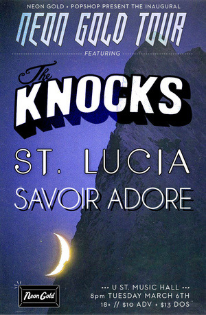 The boys are back!  The Knocks return to U Street Music Hall tonight, and I don't hate it. Not even a little bit.