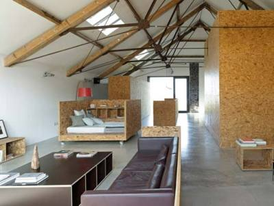 spatula:  (via Ochre Barn by Carl Turner Architects)