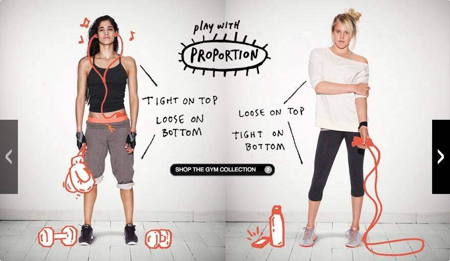 Sofia Boutella and Laura Enever in Nike's 'Make it count' campaign. Nikewomen!