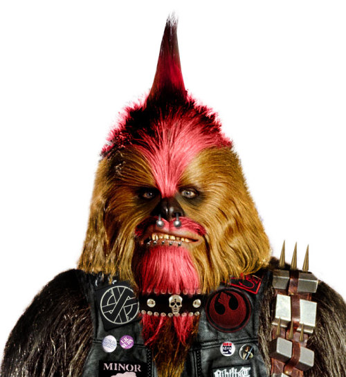 Punk Rock Chewbacca