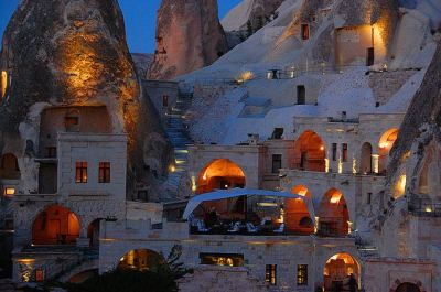 The Gamirasu Cave Hotel (Cappadocia Cave Hotel) : Cappadocia, Turkey source official website map video tripadvisor