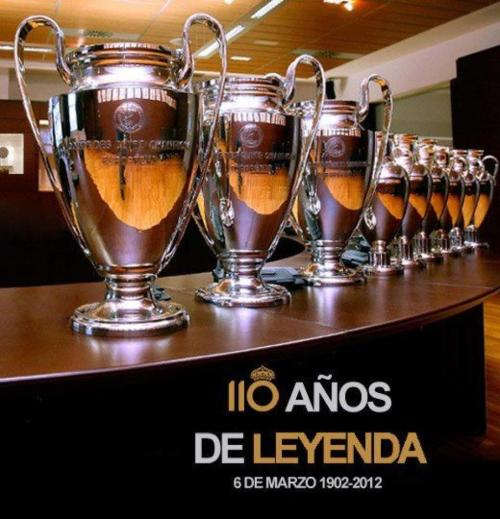 thisischrislira:  Happy 110th Birthday Real Madrid! Feliz Aniversario 110 Real Madrid! Hala Madrid!