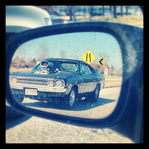 Drag racer #musclecar #car (Taken with instagram)