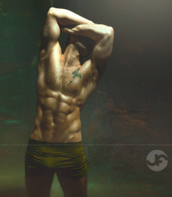 """CAIN"" Andrew Chard, Model Photo by Jay Fuertez"