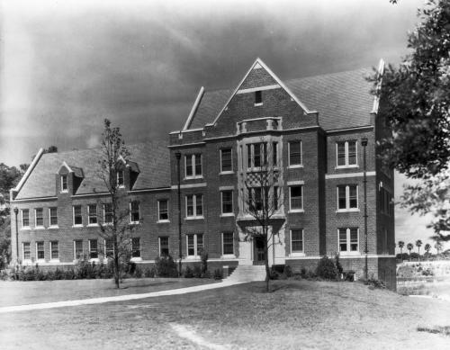 The Infirmary circa 1931. From the UFDC.  Click on photo for streetview.