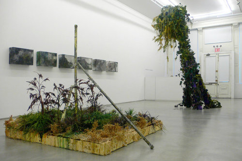 fyeahwomenartists:  Cristina Lei RodriguezThrough Excess and Ruin Installation Shot (via Cristina Lei Rodriguez : Overrun)